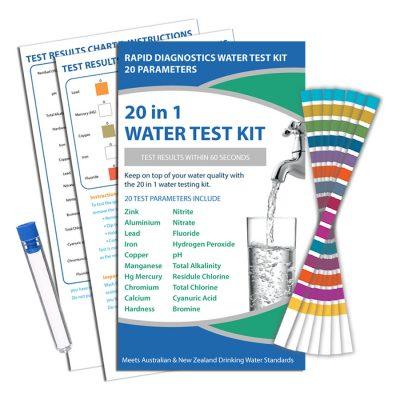 Water Test Kit Strips 20 in 1